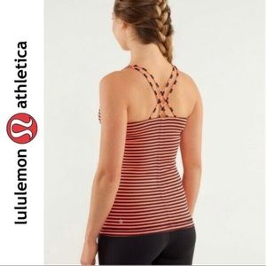 Lululemon Athletica Free to Be Stripped Tank